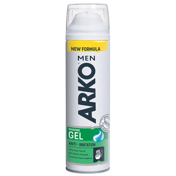 ARKO Гель д/бр. Anti-Irritation 200ml АКЦИЯ! СКИДКА 20%