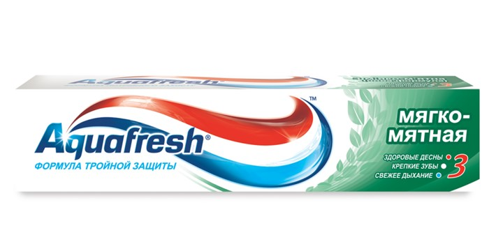 AQUAFRESH TOTAL Зубная паста 50ml  Mild Mint