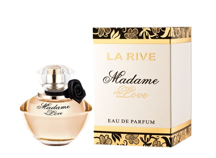 LA RIVE  MADAME IN LOVE 90ml /жен.  +  ПАКЕТ  (гуччи флора)