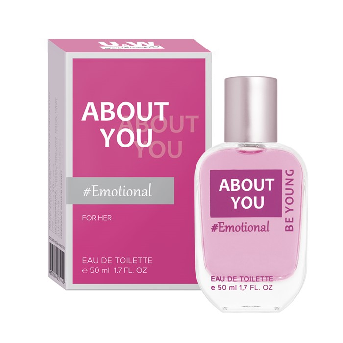 ABOUT YOU  EMOTIONAL FOR HER 50ml /жен.