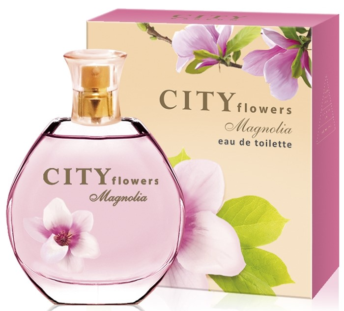 CITY FLOWERS MAGNOLIA 50ml /жен.
