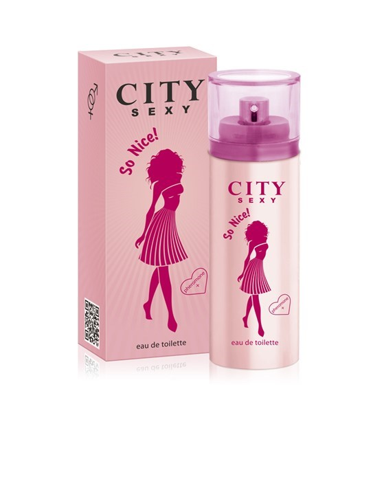 CITY SEXY SO NICE 60ml /жен.