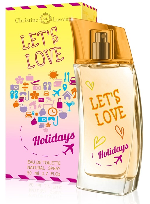 LET`S LOVE HOLIDAYS 50ml /жен.