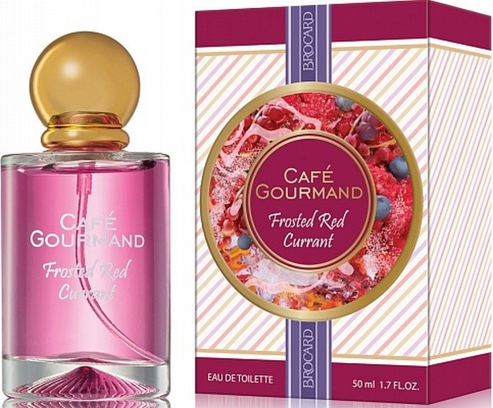 BROCARD  CAFE GOURMAND FROSTED RED CURRANT 50ml/жен.
