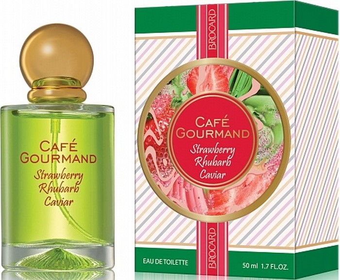 BROCARD  CAFE GOURMAND STRAWBERRY RHUBARB CAVIAR 50ml/жен.