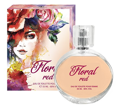 FLORAL RED 55ml /жен.