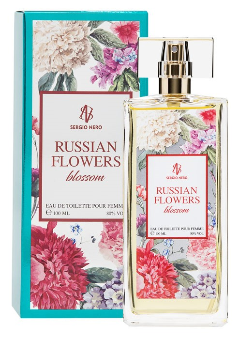 RUSSIAN FLOWERS BLOSSOM edt /жен.