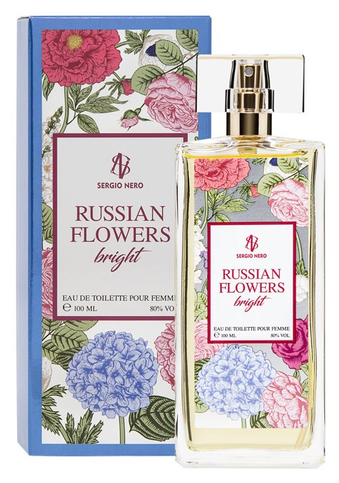 RUSSIAN FLOWERS BRIGHT edt /жен.
