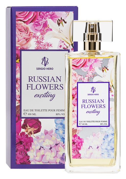 RUSSIAN FLOWERS EXCITING edt /жен.