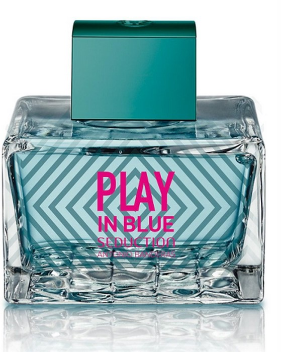 AB  PLAY BLUE  SEDUCTION 100ml /жен. TESTER