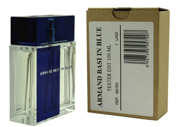 ARMAND BASI IN BLUE 100ml edt TESTER