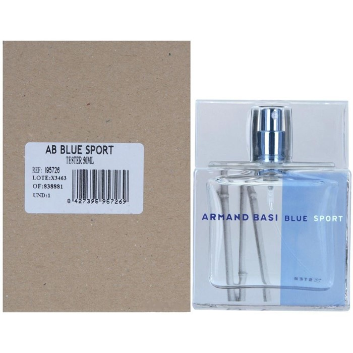 ARMAND BASI IN BLUE SPORT 50ml edt TESTER