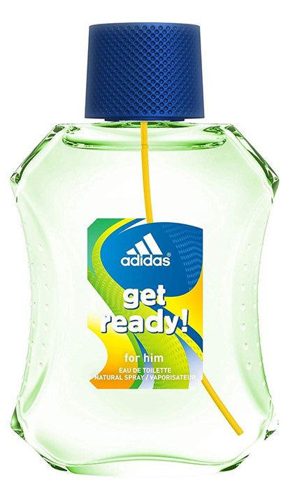 ADIDAS GET READY 100ml edt Homme TESTER