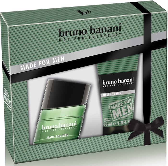 BRUNO BANANI MADE FOR MEN Набор ( 30ml edt + гель/душ 50мл)