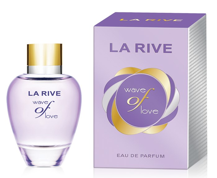 LA RIVE  WAVE OF LOVE 90ml /жен.  +  ПАКЕТ  (ланвин эклат)
