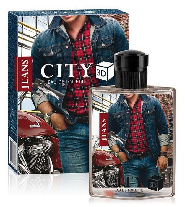 CITY 3D JEANS ORIGINAL 90ml /муж.