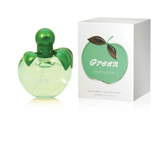 ASC  GREEN 100ml (DKNY Be Delicios)/жен.(яблоко)