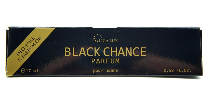 Духи-ролл  17ml  BLACK CHANCE (масл.) муж.