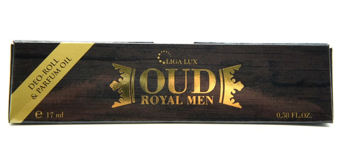 Духи-ролл  17ml  OUD ROYAL MEN (масл.) муж.