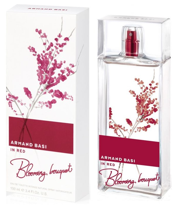 ARMAND BASI IN RED BLOOMING BOUQUET INTENSE 100ml edt