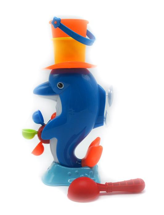 Набор для игры с песком и водой Дельфин (ведро, ковшик) на ...