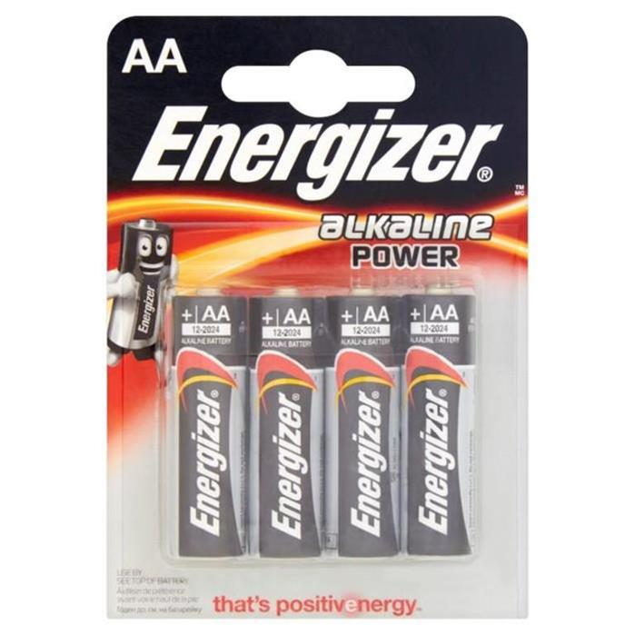 Батарейка  Energizer LR06 (пальч.) Alkaline+Power BP4  блистер АКЦИЯ! СКИДКА 15%